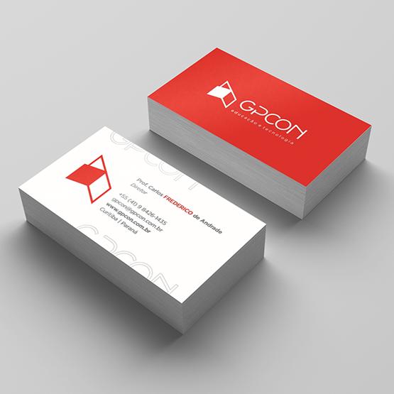 Cartões de Visita GPCON Milheiro